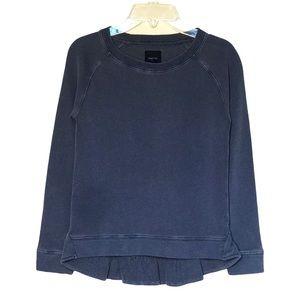 Gap Ruffle Back French Terry Sweatshirt